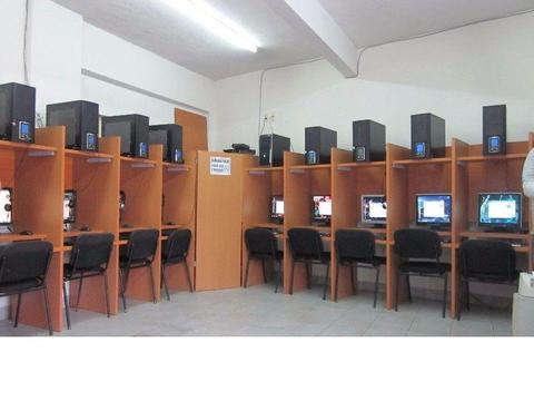 ciber cafe ,totalmente equipado , core dos duo , intel dual core, pentium 4