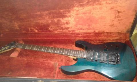Guitarra Electrica JACKSON con puente Floy Rose, en optimas condiciones