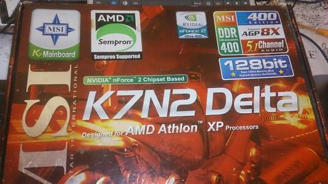 Vendo Msi K7n2 Deltal Placa Base