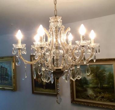 Lámpara de Techo, Cristal