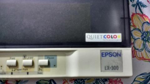 Impresora Epson lx300 a color