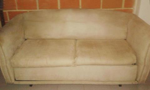 Sofa Cama Matrimonial Para Retapizar O Limpiar De Hierro