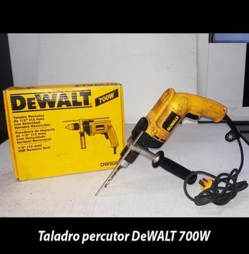 Taladro Percutor Dewalt De 1/2 Modelo: Dw508s