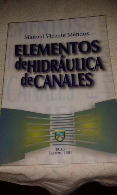 LIBRO DE HIDRAULICA DE CANALES