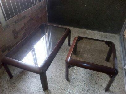Mesas de caoba