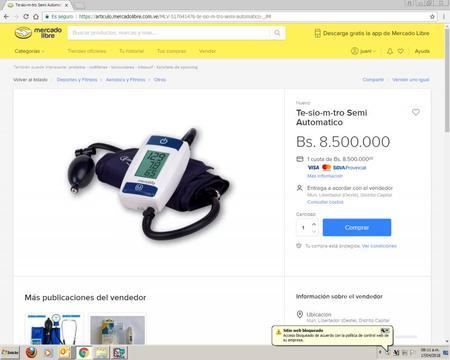 Se Vende Tensiometro Semi Automatico Poco uso, por usar mas