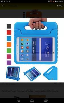 Forro Protector Anti Golpes para iPad