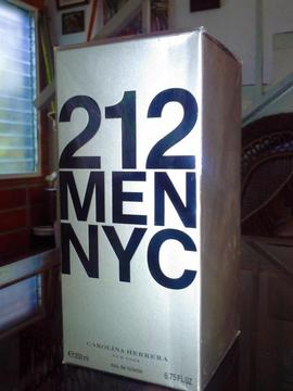 Perfume 212 Men Carolina Herrera 200 Ml