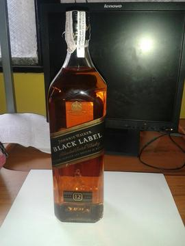 Whisky Etiqueta Negra de Litro