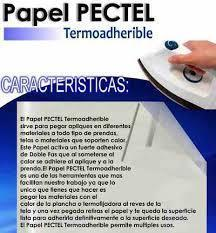 VENDO LAMINA DE PAPEL PECTEL