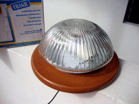 PLAFÓN o lámpara de cristal para techo o pared. NUEVA
