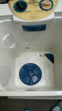 Lavadora Funcionando
