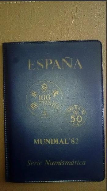 Monedas Conmemorativas De España Copa Mundial De Fútbol 1982