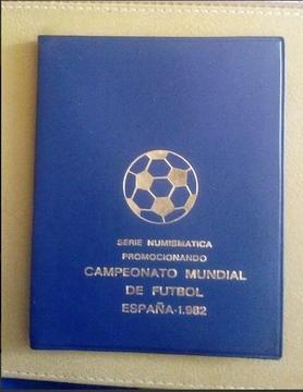 Serie Numismática Campeonato Mundial De Fútbol 1982