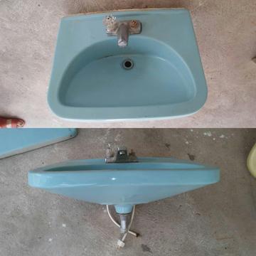Lavamanos Color Azul