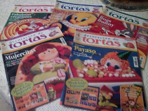 Revistas de Decoración de Tortas