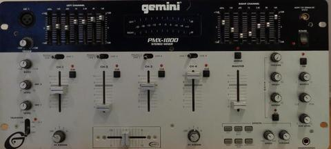 Mezclador Profesional Gemini PMX1800 19pulgadas