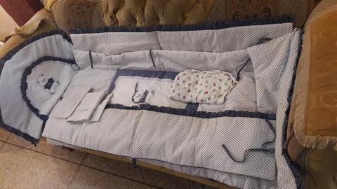 Edredon para Cuna de Bebe 8 Piezas